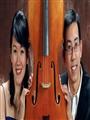 """""""绚丽二重奏""""美国音乐博士王再颂与张希献演大提琴与钢琴之夜"""